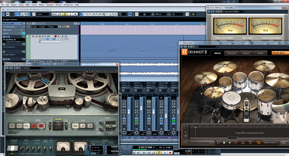 Mixing: Somewhere Blue